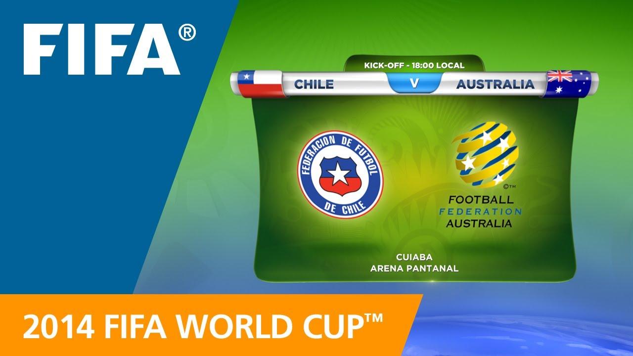 Resultado de imagem para Chile v Australia teams announcement