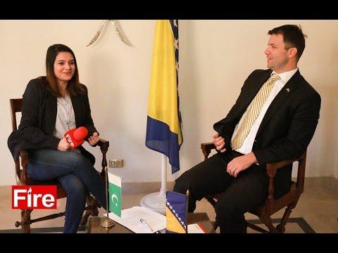 Interview with Ambassador of Bosnia & Herzegovina Dr.Nedim Makarevic
