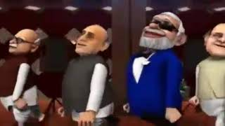 AUDI LAI DAU BY MODI- FUNNY ANIMATED