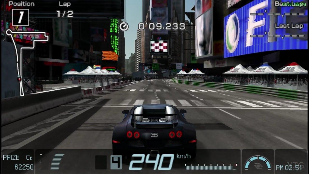 Gran Turismo - Bugatti Veyron 16.4 '09 PSP Gameplay HD ...