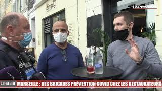 Marseille : des brigades de prévention Covid chez les restaurateurs