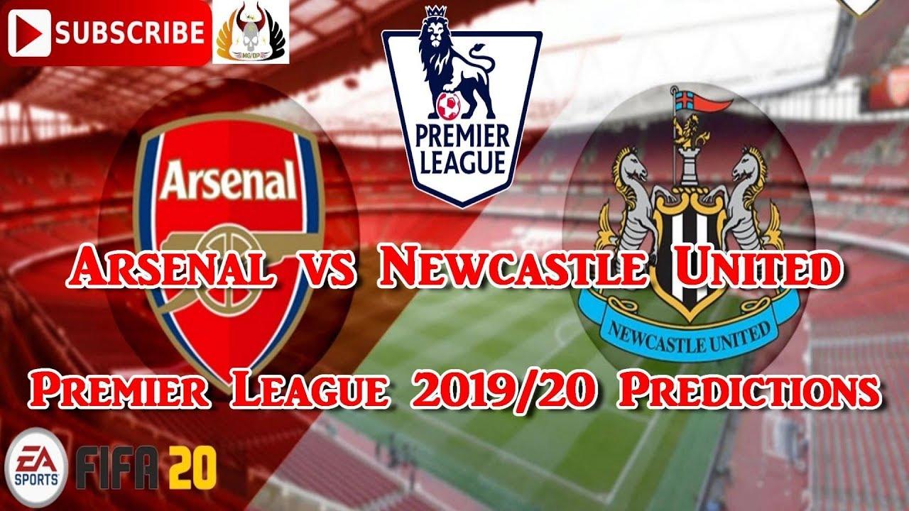 Arsenal vs Newcastle United | 2019-20 Premier League ...