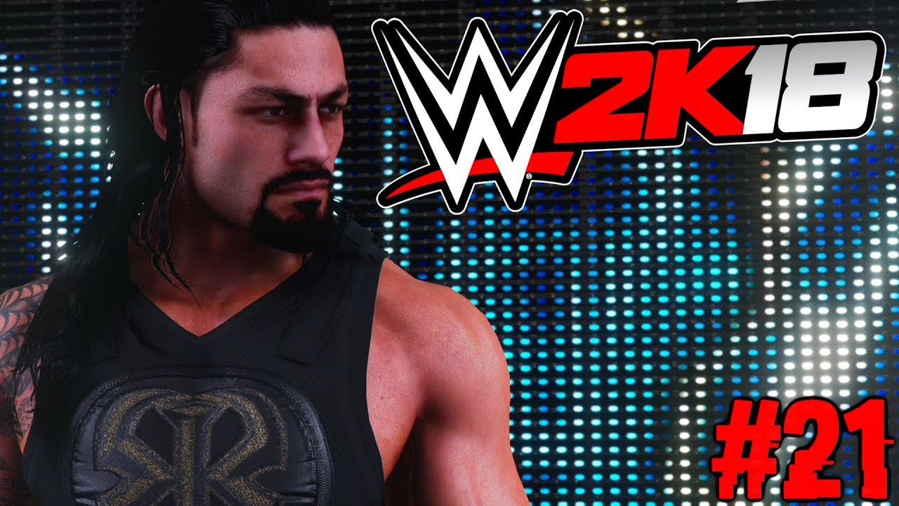 ragemodus pur wwe 2k18 auf rille zum titel 21 facecam youtube. Black Bedroom Furniture Sets. Home Design Ideas