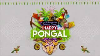 Happy Pongal 2018 - A.R.Rahman's Pongal Theme & Advertisement Jingle