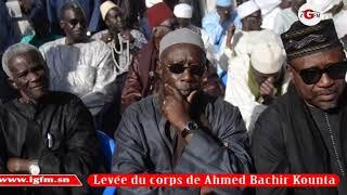 Levée du corps de Ahmed Bachir Kounta