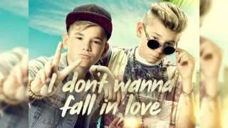 Marcus & Martinus - I Don't Wanna Fall In Love ( Lyrics )