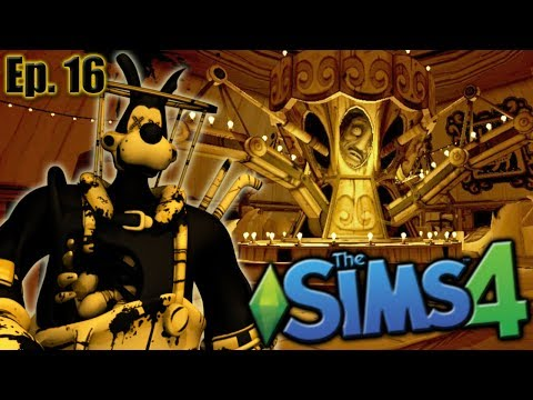 Welcome to BENDY LAND!!   The Sims 4: Bendy and the Ink Machine - Ep 16
