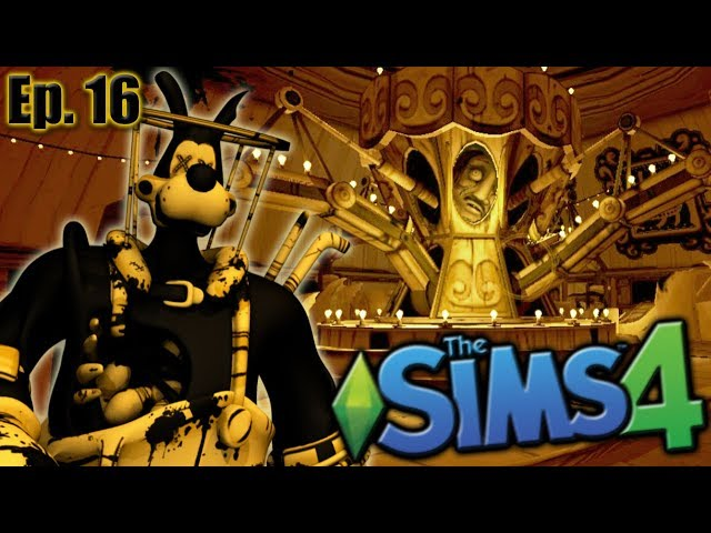 Welcome to BENDY LAND!! | The Sims 4: Bendy and the Ink Machine - Ep 16