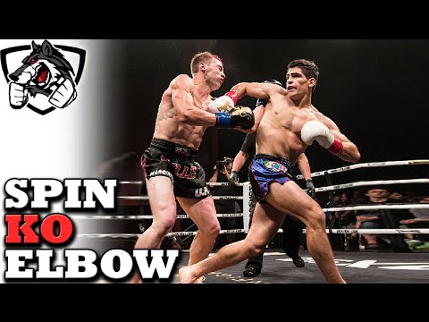 This Move is Changing Muay Thai: Gaston's Spinning Elbow KO