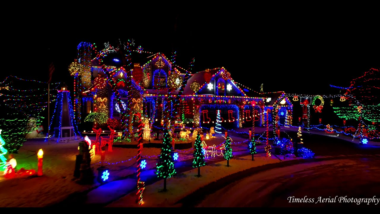 Top Stunning Christmas Light Displays NWI Must See Drone Footage