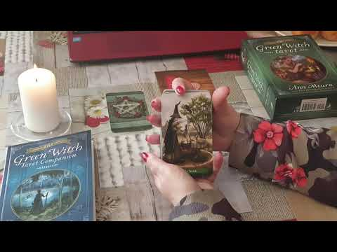 Обзор таро зеленой ведьмы. The Green Witch Tarot.