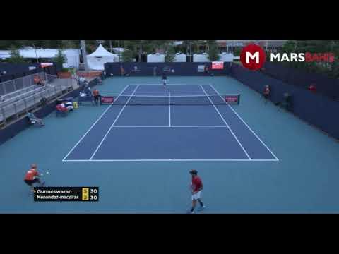 Prajnesh Gunneswaran vs  Adrian Menedez-Maceira : ATP Miami Masters Q1