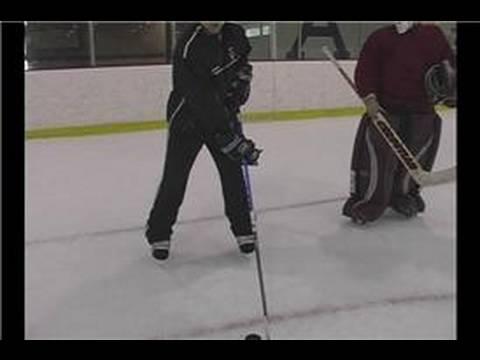 Hockey Stick Handling : Gripping Ice Hockey Sticks