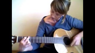 Country Roads Fingerstyle Classical Guitar