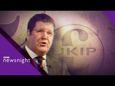 European Elections: UKIP Deputy Leader defends party defections - BBC Newsnight