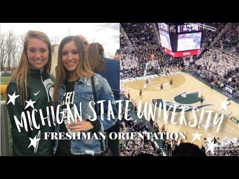 MSU Orientation Vlog 2018 | Michigan State University