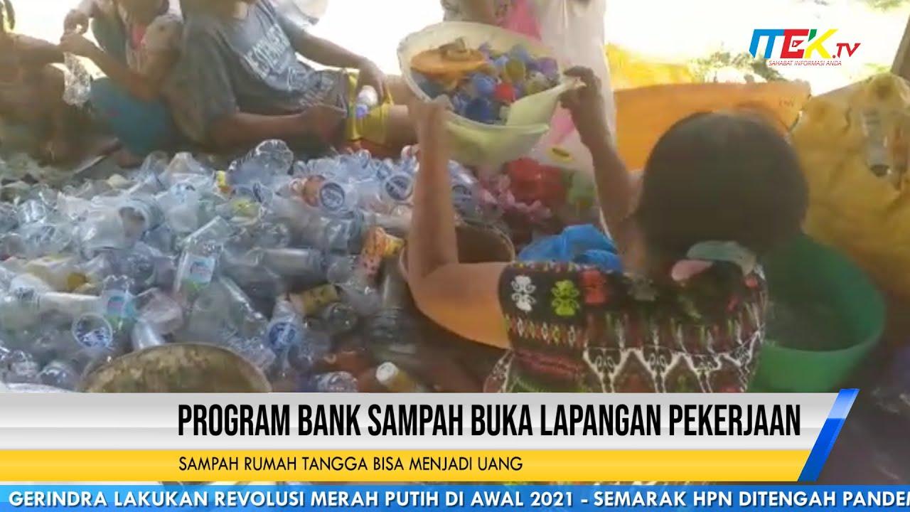 Program Bank Sampah Buka Lapangan Pekerjaan