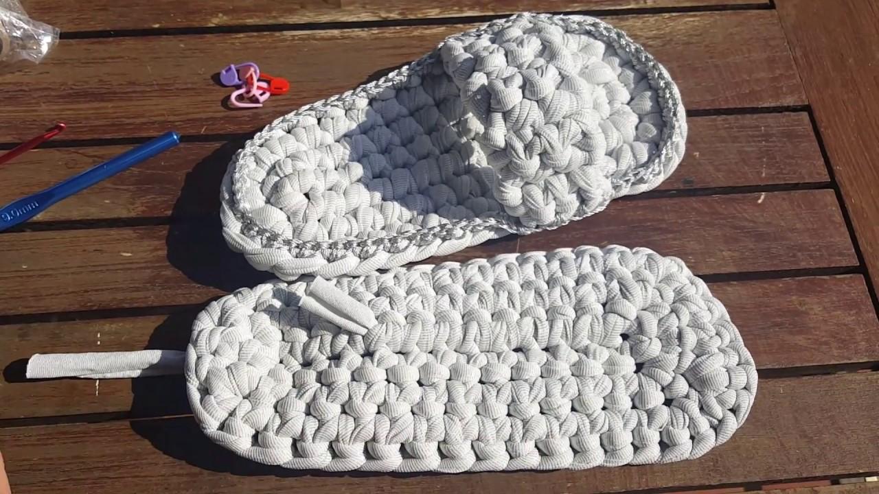 Crochet Trapillo Sandalias De Lurex Con Gembags A zUVpqSM