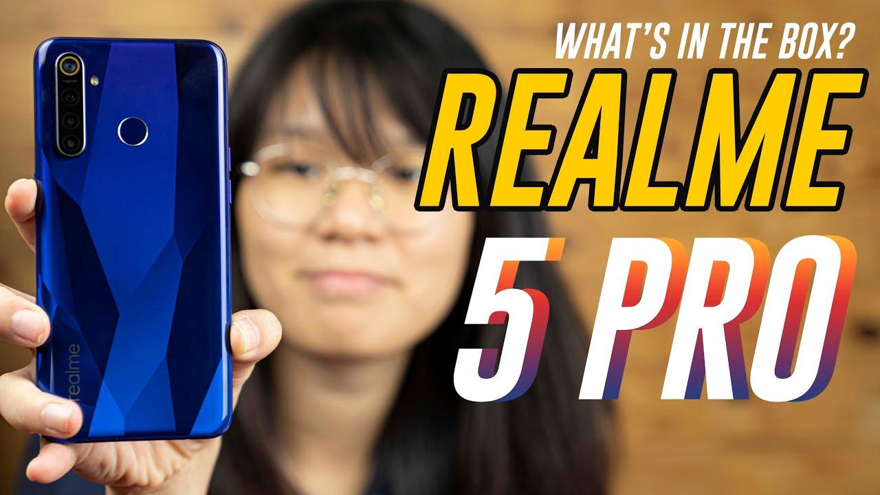 Realme 5 Pro unboxing & hands-on - SoyaCincau thumbnail