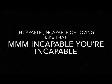 Keyshia Cole - Incapable (Lyrics)