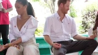 Prince Harry and Rihanna take HIV test in Barbados