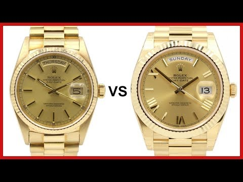 OLD Day-Date 36 vs NEW Day-Date 40 - ROLEX COMPARISON