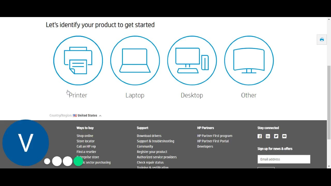 How to HP envy 5055 printer driver download