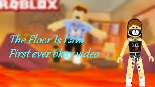 The Floor Is Lava Roblox (How Long Can I Survive?!?)