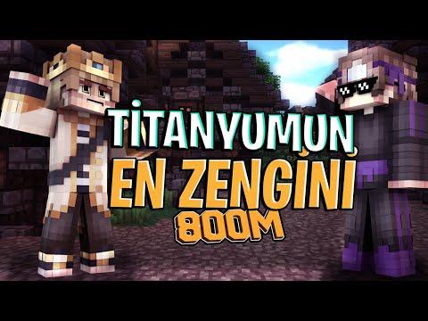 TİTANYUM EN ZENGİNİ UYGAROZKANN! 800 SPAWNER EFSANE CLAİM - Minecraft SonOyuncu Survival Titanyum