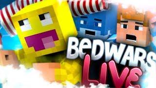 [ LIVE] Minecraft: BED WARS (z zaskakującym zaskoczeniem! )