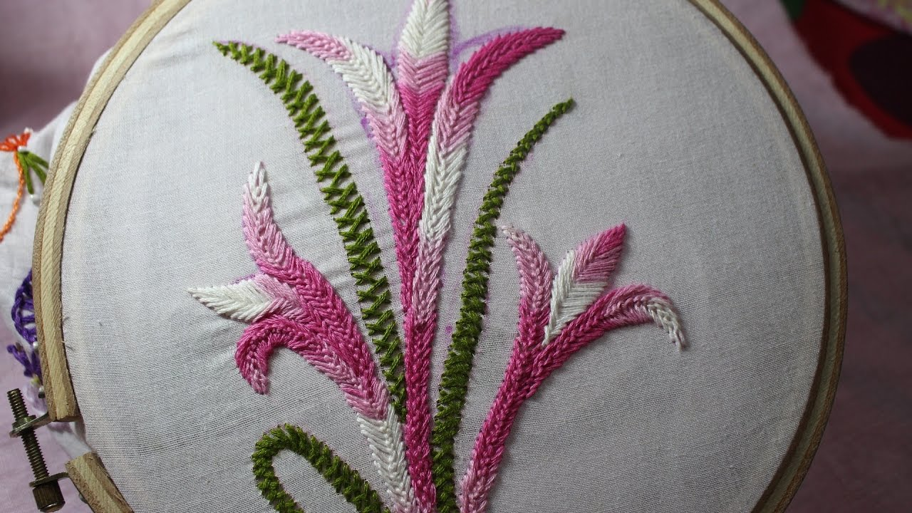 Hand Embroidery Designs Basic Embroidery Stitches Part 9