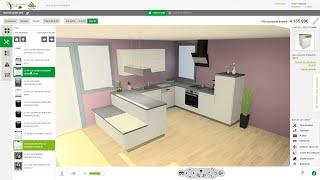 Comment Consevoir Une Cuisine Avec L Outil 3d Leroy Merlin Youtube