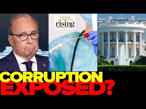 Krystal and Saagar: Larry Kudlow, Trump Admin Official CAUGHT In New Corruption Exposés