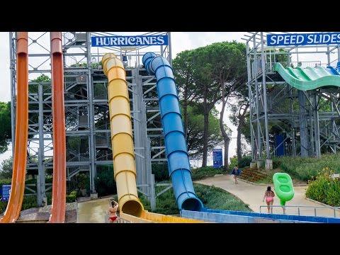 Water World Lloret - Hurricanes | Speed Boat Slides Onride