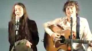 "Lisa Hannigan & Damien Rice "" Volcano """