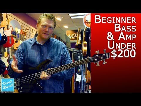 Shopping for a Bass & Amp (Budget = $200 or Less)