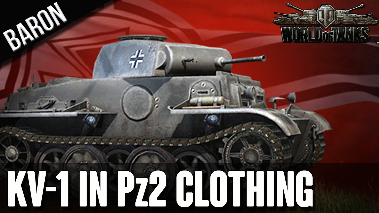 World of Tanks Rare Tank - KV-1 in Panzer's Clothing, Panzer
