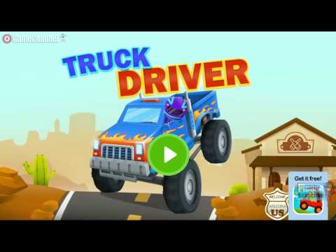 Truck Driver Racing - Action & Adventure - Videos Games for Kids - Girls - Baby Android