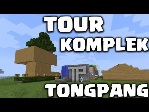 JOGET BARENG BURUNG + TOUR KOMPLEK TONGPANG - Minecraft Survival Indonesia #28