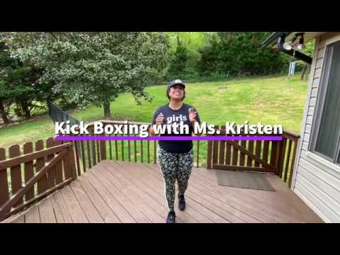 Kickboxing with Ms. Kristen