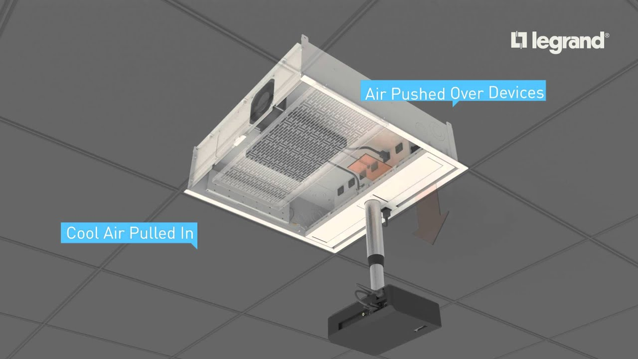 Wiremold Evolution Ceiling Box Air Cooling System