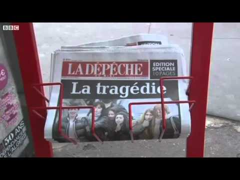 Huge manhunt under way after fatal France shootings
