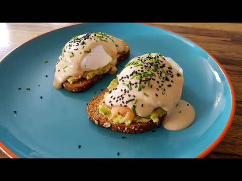 Eggs Benedict - The Healthy Version