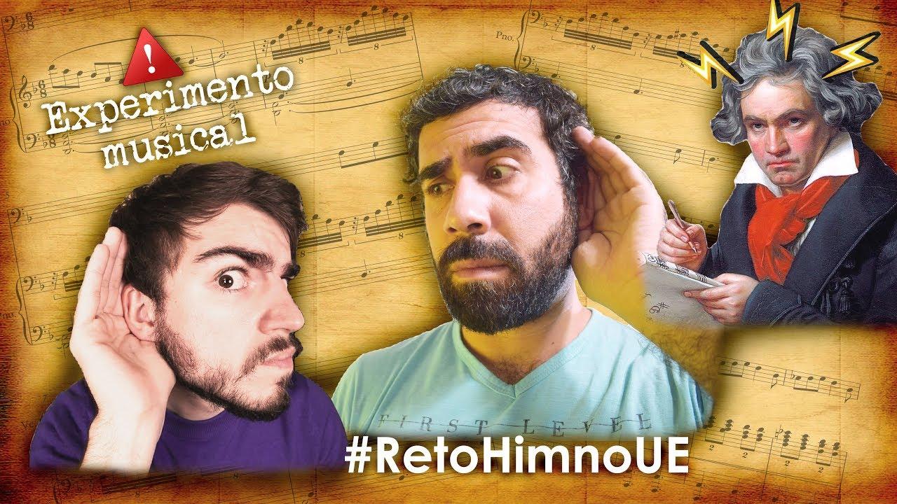 Oda a la Alegría en compás Compuesto y en modo menor | Experimento musical #RetoHimnoUE