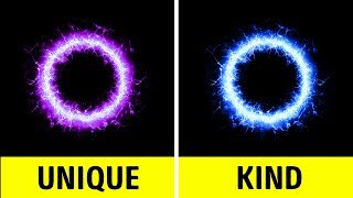 Does your personality shine through your aura? Purple, blue, white,...
