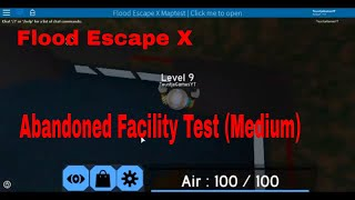 Abandoned Facility Test (Medium) (Roblox FEX Map Test)