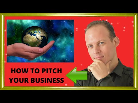 How to pitch your business ideas to investors or when selling: tutorial with a template and examples
