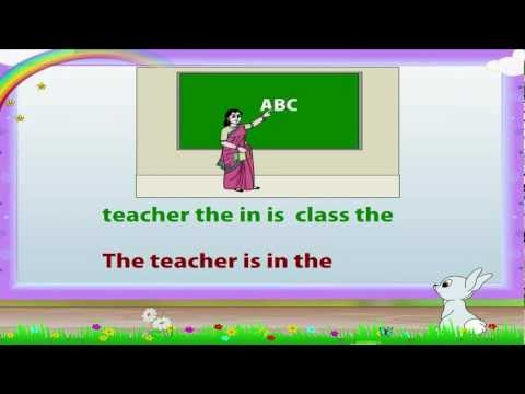 Learn Grade 1 - English Grammar - Correct Sentences