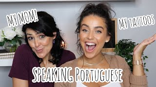 GRWM IN PORTUGUESE W/MY MOM!