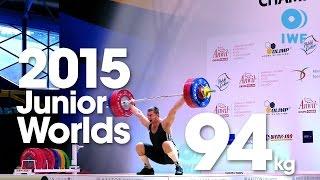94kg Best Lifts 2015 Junior World Championships